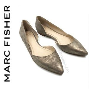 Marc Fisher | Sunny D' Orsay Metallic Flats